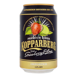 Kopparberg strawberry lime 4,5% can 300ml