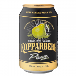 Kopparberg pear cider 4,5% can 300ml