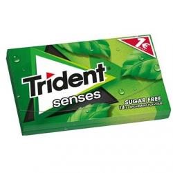 Τσίχλα Trident Senses Δυόσμος 27γρ. 1€