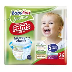 Πάνες βρακάκι Babylino Pants Value Pack No5 10-16KG / 26T Junior