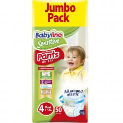 Πάνες βρακάκι Babylino Pants Economy Value Pack No4 7-13KG / 50T Maxi