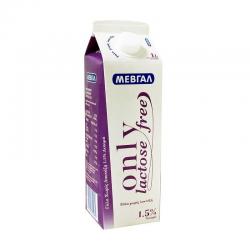 Μεβγάλ γάλα UHT Only 1,5% lactose free 1lt