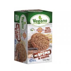 Βιολάντα Μπισκότα Vegano με βρώμη & χαρούπι 170γρ.