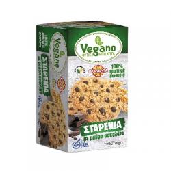 Βιολάντα Μπισκότα Vegano σταρένια με μαύρη σοκολάτα 170γρ.