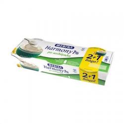 Μεβγάλ γιαούρτι harmony λευκό με ανθόγαλα 1% (2+1Δώρο) 3x200γρ.