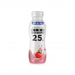 Μεβγάλ Hi Protein 25γρ. φράουλα 242ml