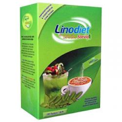 Γλυκαντικό Linodiet stevia 100 φάκέλων