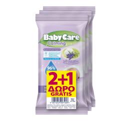 Μωροπετσετες BabyCare Calming minipack 12τεμ (2+1Δώρο)