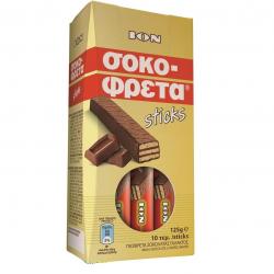 IOΝ σοκοφρέτα sticks 10x12,5γρ.