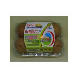 Αυγά Κοντογιάννη πλαστική θήκη 6άδα medium