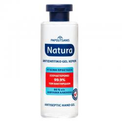 Αντισηπτικό gel Papoutsanis natura 80ml
