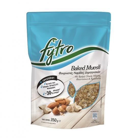 Fytro Baked Musli Φουρνιστες Νιφάδες Δημητριακών 350γρ.