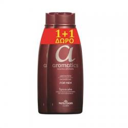 Αφρόλουτρο Papoutsanis aromatics Spicecake 650ml (1+1Δώρο)