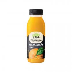 Χριστοδούλου ψυγ. πορτοκάλι 100% PET 250ml