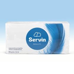 Servin quality χαρτοπετσέτες 1φυλλο 30cmx30cm 200 τεμ. 306γρ.