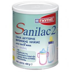 ΓΙΩΤΗΣ Βρεφικό Γάλα Sanilac 2