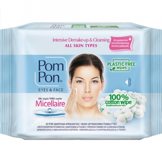 Pom Pon All Skin Micellaire 20τεμ