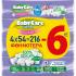 Μωρομάντηλα BabyCare Sensitive Refill 4x54τεμ (-6,00€)