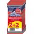 Υγρά μαντήλια Wet Hankies Extra Safe 12τεμ (2+2)